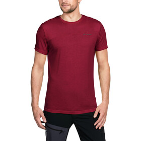 VAUDE Sveit T-paita Miehet, dark indian red